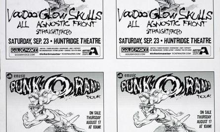 Punk-O-Rama 9/23/95