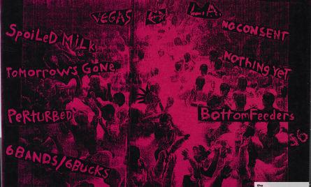 Six bands for six bucks 9/16/94